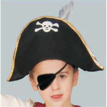 Dress Up America H323-A Foldable Pirate Hat - Adult