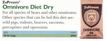 Zupreem 230055 Zupr Dry Omnivore Diet 20