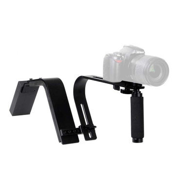 Yescomusa Oem Adjustable Shoulder Support Ring Camera Video Camcorder Stabilizer w/ Hand Grip