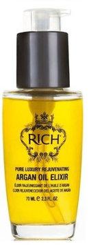 RICH Pure Luxury Rejuvenating Argan Oil Elixir 2.3 oz.