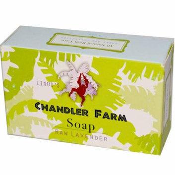 Chandler Farm Bar Soap Raw Lavender 4 oz