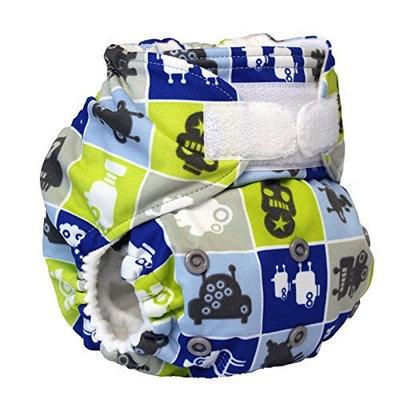 Rumparooz One Size Cloth Pocket Diaper Aplix, Robotronic