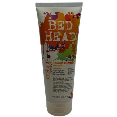 TIGI U-HC-4249 Bed Head Colour Combat Dumb Blonde Conditioner - 6.76 oz - Conditioner