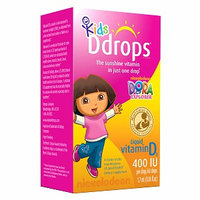 Ddrops Kids Vitamin D3 400 IU