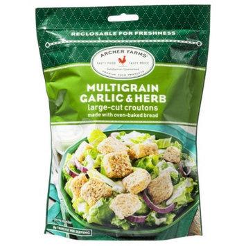 Archer Farms Multigrain Garlic & Herb Large-Cut Croutons - 5 oz.