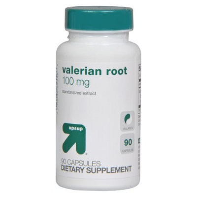 up & up up&up Valerian Root 100 mg Capsules - 90 Count
