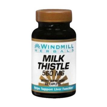 Windmill Milk Thistle 560 Mg Caplets - 60 Ea