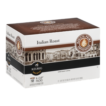 Barista Prima Coffeehouse K-Cup Italian Dark Roast Coffee - 12 CT