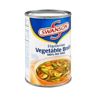 Swanson Vegetarian 100% Fat Free Vegetable Broth