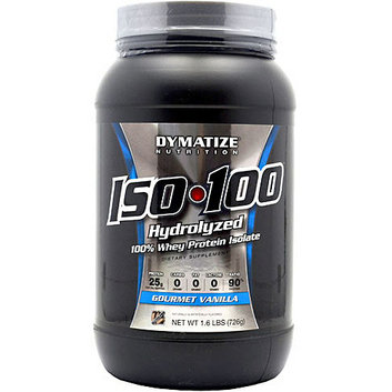 Dymatize Iso-100 Hydrolyzed Gourmet Vanilla 100% Whey Protein Isolate