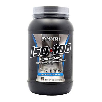 Dymatize Iso-100 Hydrolyzed Gourmet Vanilla 100% Whey Protein Isolate