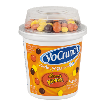 YoCrunch Yogurt Vanilla with Reese's Pieces