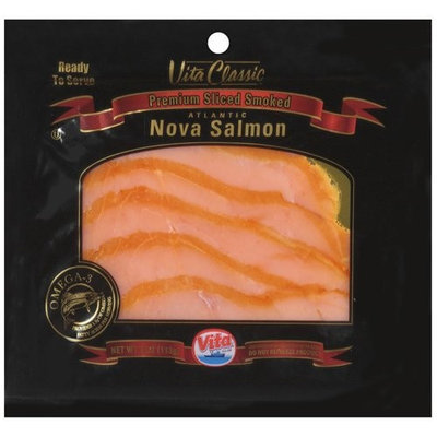Vita Classic Premium Sliced Smoked Atlantic Nova Salmon, 4 oz