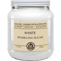 India Tree Bright White Sparkling Sugar, 3.4 lb (Pack of 2)