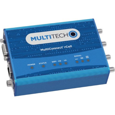 Multi-tech Systems Multi-Tech MultiConnect rCell MTR-LVW2 Cellular Modem/Wireless Router - 4G - LTE 700 - LTE - 1 x Network Port - Fast Ethernet - VPN Supported - Desktop