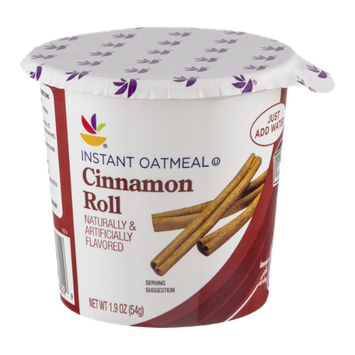Ahold Instant Oatmeal Cinnamon Roll