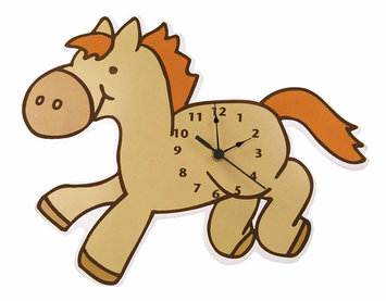 Test WALL CLOCK PONY