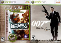 Ghost Recon: Advanced War Fighter and Quantum of Solace 2Pack