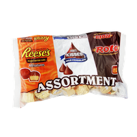 Chocolate Assortment Mix - Hershey's Kisses, Reese's Miniatures, Rolo