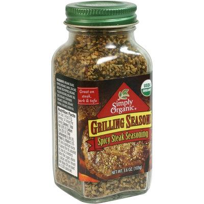 Simply Organic Certified Organic Grilling Seasons Spicy Steak Seasoning