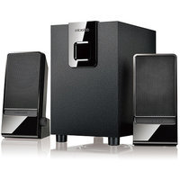 Microlab M100 10W 2.1 Multimedia Speaker for PC, Black