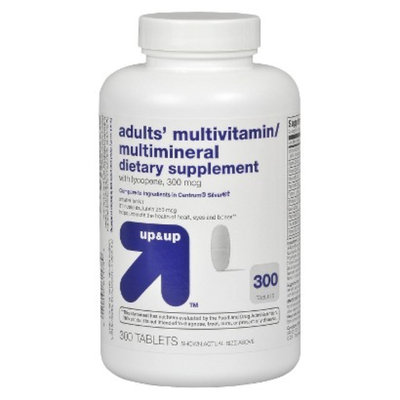 Up & Up Adults' 50+ Multivitamin/Multimineral Tablets 300-pk.