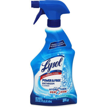 Lysol Power & Free Bathroom Cleaner with Hydrogen Peroxide