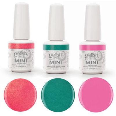 Gelish Mini Gelish Neon Street Beat 3 Color Gel Nail Polish - Includes 3 9mL Bottles