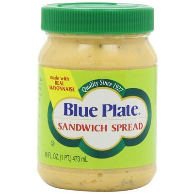 Blue Plate Sandwich Spread, 16-Ounce Jars (Pack of 6)