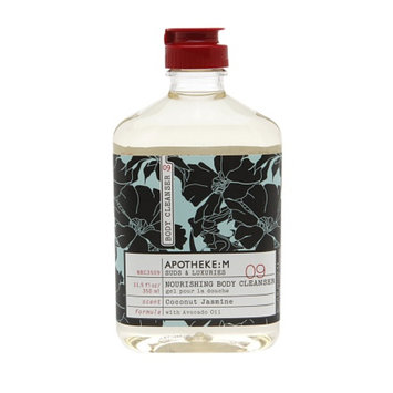 Apotheke:M Coconut Jasmine Nourishing Body Cleanser - 10.5 oz