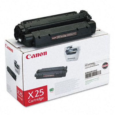 Canon X25 Toner Cartridge ICMF6530/5550 2500 Page Yield Black