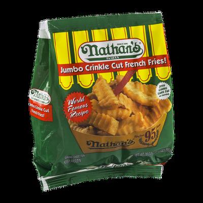 Nathan's Jumbo French Fries Crinkle Cut