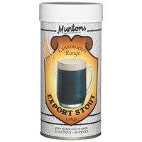 Muntons Connoisseurs Range Export Stout Beer Making Kit, 48-Ounce Can