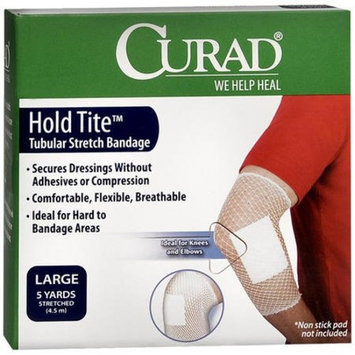 Curad Holdtite Stretched Bandage, Large 5 Yards, (Pack of 6)