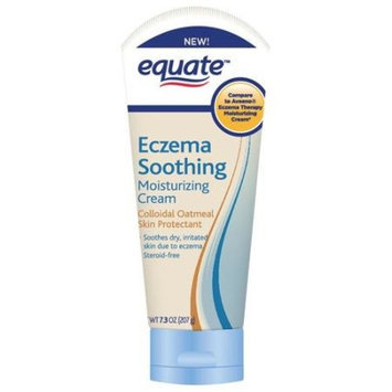Equate Eczema Soothing Moisturizing Cream with Colloidal Oatmeal Skin Protectant, 7.3 oz