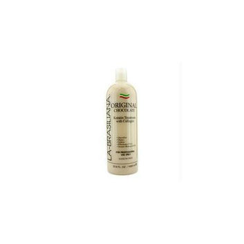 La-brasiliana 14975514244 Original Chocolate Keratin Treatment With Collagen - 1000ml-33. 8oz