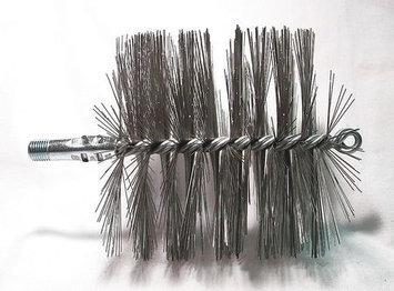 TOUGH GUY 3EDJ3 Flue Brush, Dia 5,1/4 MNPT, Length 8