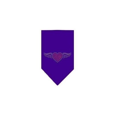 Ahi Aviator Rhinestone Bandana Purple Large