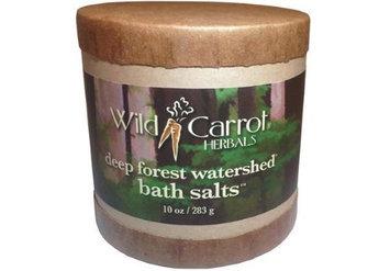 Watershed Bath Salts Deep Forest Wild Carrot Herbals 10 oz Salt