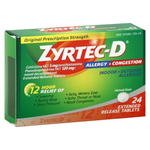 Zyrtec-D Allergy & Congestion