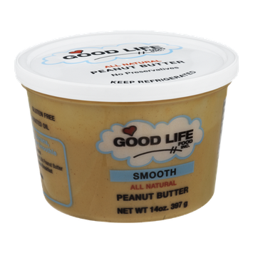 Good Life Food Inc. Peanut Butter Smooth All Natural