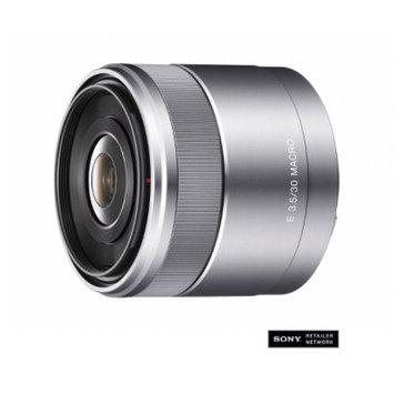 Sony 30mm E-Mount Macro Lens - Black/Silver (SEL30M35)