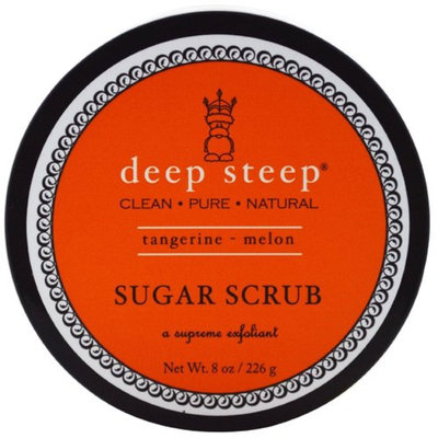 Deep Steep 1521244 Sugar Scrub Tangerine Melon 8 oz.