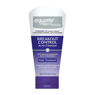 Equate Beauty Breakout Control Acne Cleanser