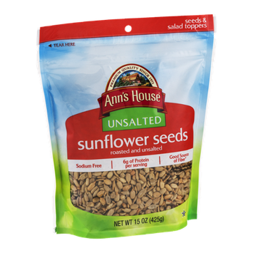Ann's House Unsalted Sunflower Seeds