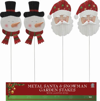 Horseloverz Holiday Light Up Eyes Garden Stakes