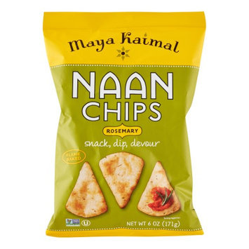 Maya Kaimal NAAN CHIPS, ROSEMARY, (Pack of 12)