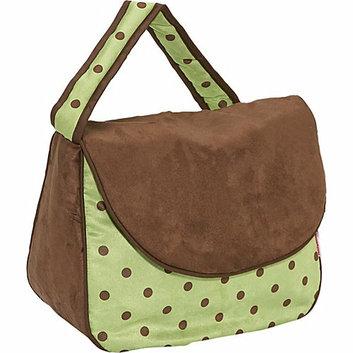 Hoohobbers Messenger Diaper Bag - Girl