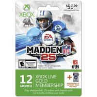 Microsoft MS Xbox Madden 12 Month 2013 $59.99