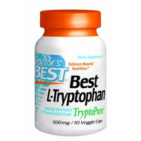 Doctor's Best Best L-Tryptophan 500mg Doctors Best 10 VCaps